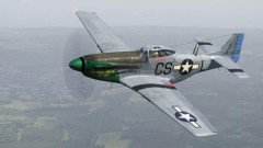 North American P-51D Mustang model airplane plan