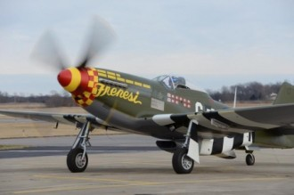 North American P-51 Morris Mustang model airplane plan