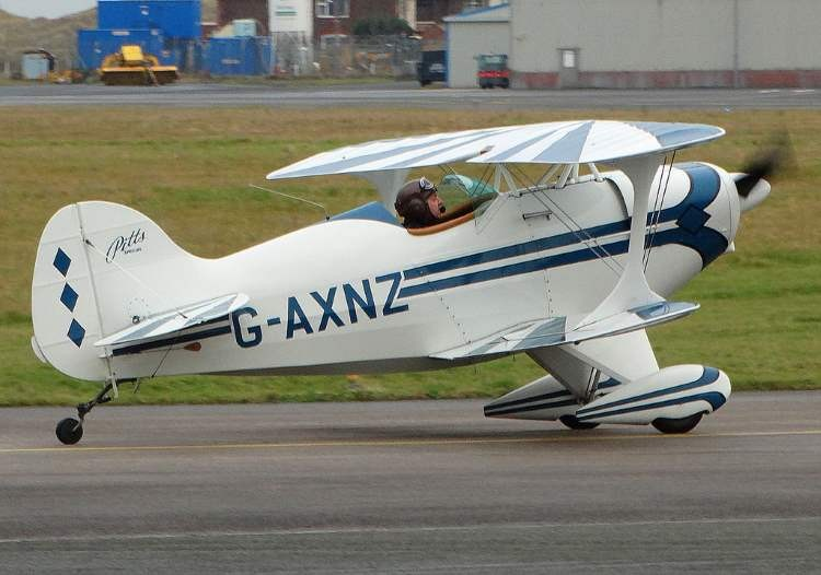 PITTS S1C model airplane plan