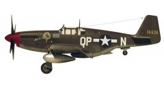 North American P-51 Pony model airplane plan