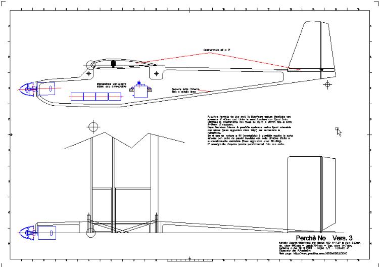 Perchè No Vers. 3 model airplane plan