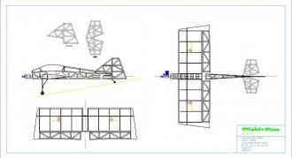 Pichi Fun model airplane plan