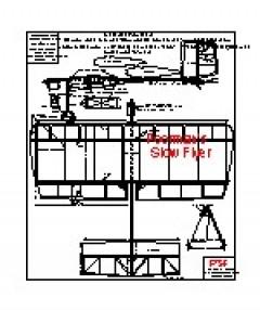 Poormans Slowflyer model airplane plan