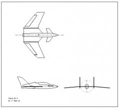 Prime Jet I model airplane plan