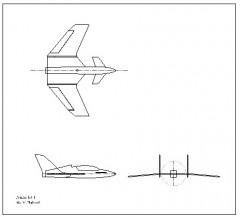 Prime Jet I model airplane plan