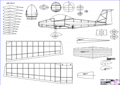 Qualt 200 L model airplane plan