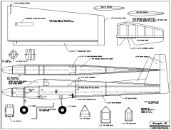 Renegade 40 model airplane plan