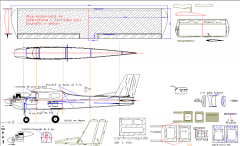 SC-150-R Trainer (Balsa-Styrofoam Wing) model airplane plan
