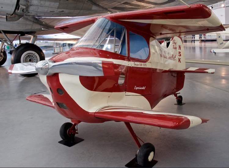 Stits SA-2A Sky Baby (N5K) model airplane plan