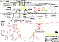 Snipe 150 model airplane plan