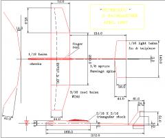 Superslug model airplane plan