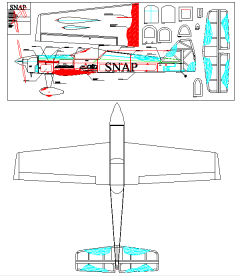 Snap model airplane plan