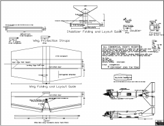 Special model airplane plan