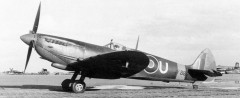 Spitfire MK VIII model airplane plan