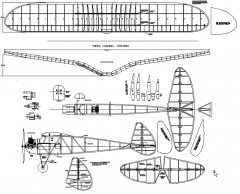 Spook-72 model airplane plan