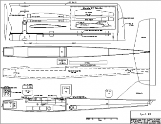 Sport 400 model airplane plan