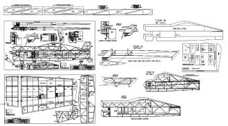 Su-Do-Khoi 180 model airplane plan