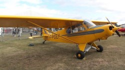 Piper Super Cup PA-18 model airplane plan