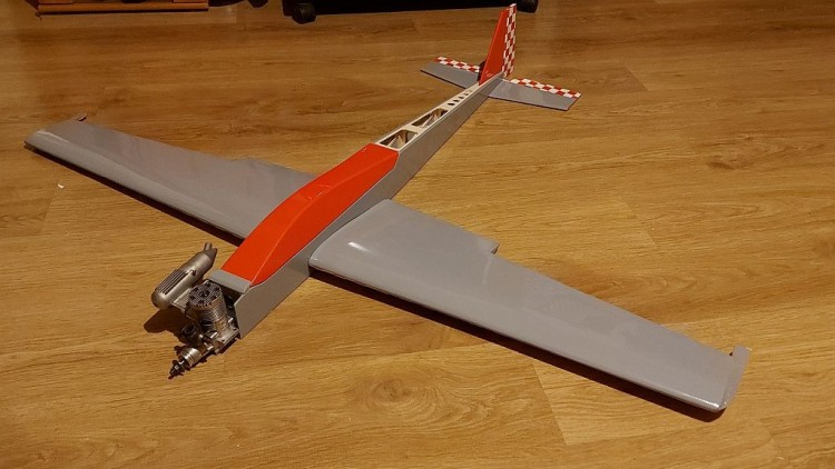 The F3A Tank model airplane plan