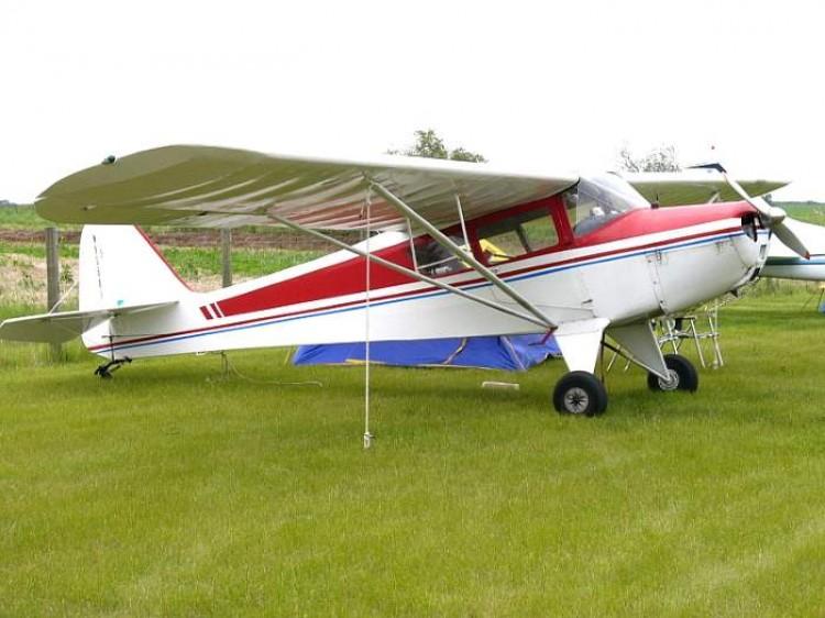 Taylorcraft model airplane plan