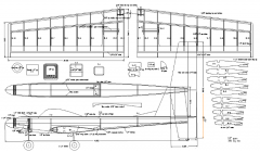 Thunderbird model airplane plan
