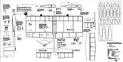 Tiny model airplane plan
