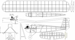 Torc 1936 model airplane plan