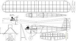 Torc 1936 model airplane plan