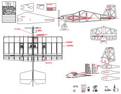 Ugly 1 model airplane plan