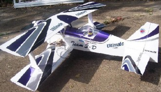 Ultimate 40 model airplane plan
