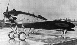 Westland Interceptor model airplane plan
