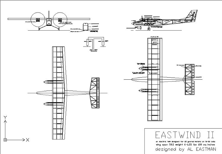 Eastwing II model airplane plan
