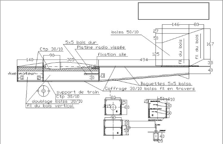 Weed model airplane plan