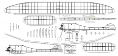 Westerner 2 model airplane plan