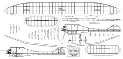 Westerner 2 model airplane plan