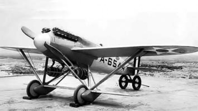 Navy-Wright NW1 model airplane plan