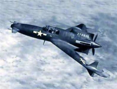 XP-55CANARD model airplane plan