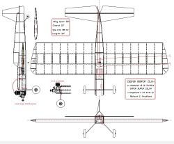 """""""ZOOPER DOOPER"""" ZILCH model airplane plan"""