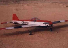 acrofovic 40 model airplane plan