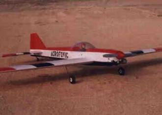 Acrofovic 40 model airplane plan
