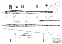 Elexin model airplane plan