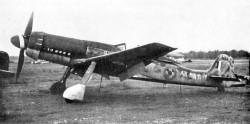 Focke-Wulf Ta 152 H model airplane plan