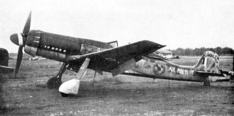 Focke-Wulf Ta 152 H model airplane plan