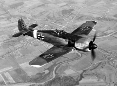 fw190a4 model airplane plan