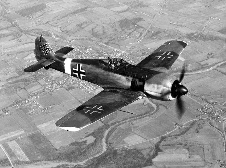 Focke-Wulf Fw 190 model airplane plan