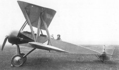 Grahame-White Type XIII Scout model airplane plan