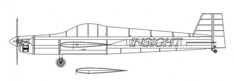 Insight 15 model airplane plan