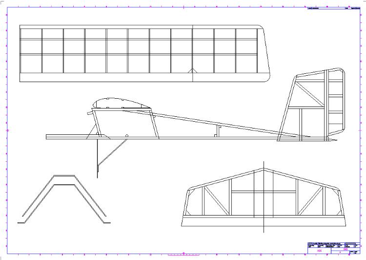 Laban Electric model airplane plan