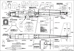 "Lightfighter 50"" model airplane plan"