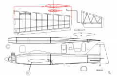 Moonracer model airplane plan